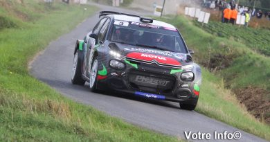 Stéphane Lefebvre s'impose au Rallye le Béthunois