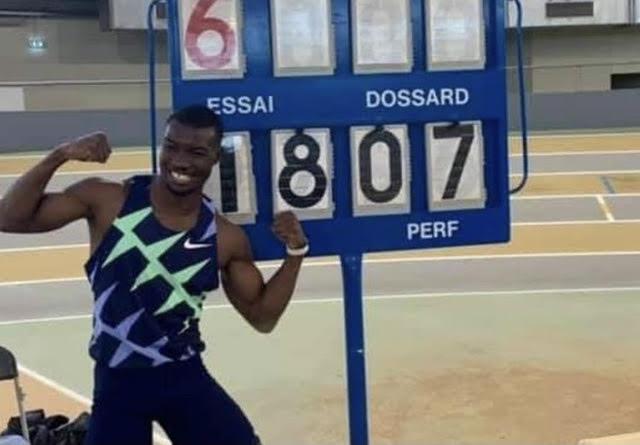 Record du monde pour Hugues-Fabrice Zango