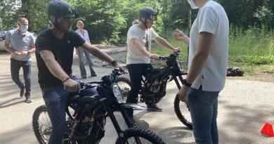 On a testé pour vous… FreeRide, la moto électrique à Olhain